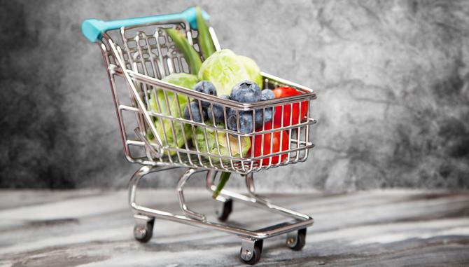 netbutik med dagligvarer