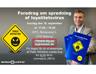 Gratis loyalitetsforedrag 19. september 2019