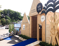 Branding via et pop-up event